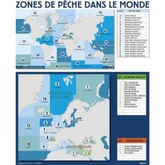 Panneau d'affichage zone et sous zones de pêche - Devis sur Techni-Contact.com - 1