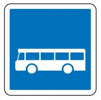 Panneau d'indication arrêt d'autobus C6 - Devis sur Techni-Contact.com - 1
