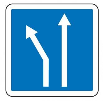Panneau d'indication d'affectation de voies C24b - Devis sur Techni-Contact.com - 1