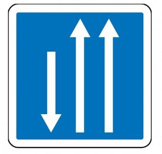 Panneau d'indication d'un créneau de dépassement C29b - Devis sur Techni-Contact.com - 1