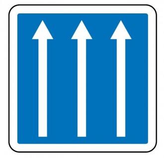 Panneau d'indication de conditions particulières de circulation C24a - Devis sur Techni-Contact.com - 1