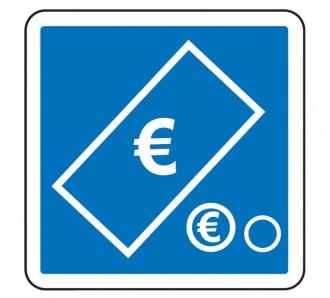 Panneau d'indication de paiement par pièces et billets C64c2 - Devis sur Techni-Contact.com - 1
