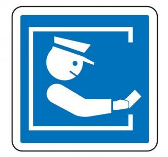 Panneau d'indication du mode de paiement sur une route à péage C64a - Devis sur Techni-Contact.com - 1