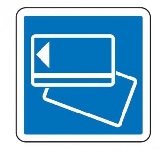 Panneau d'indication du mode de paiement sur une route à péage C64b - Devis sur Techni-Contact.com - 1