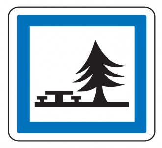 Panneau d'indication emplacement pour pique-nique CE7 - Devis sur Techni-Contact.com - 1