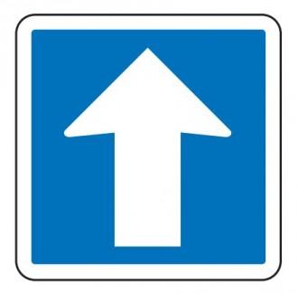 Panneau d'indication sens unique C12 - Devis sur Techni-Contact.com - 1