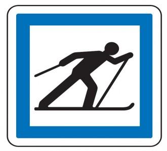 Panneau d'indication Ski de fond CE6b - Devis sur Techni-Contact.com - 1