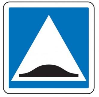 Panneau d'indication surélévation chaussée C27 - Devis sur Techni-Contact.com - 1