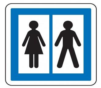 Panneau d'indication toilettes publiques CE12 - Devis sur Techni-Contact.com - 1