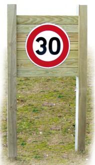 Panneau d'indications routières en bois - Devis sur Techni-Contact.com - 1