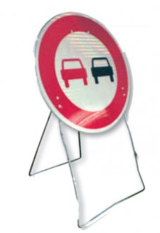 Panneau d'interdiction sur support mobile BK - Devis sur Techni-Contact.com - 1