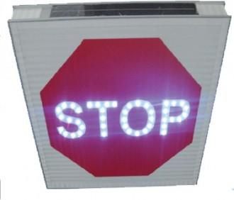 Panneau d'intersection STOP AB4 lumineux - Devis sur Techni-Contact.com - 1