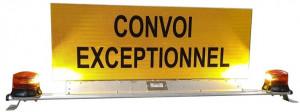 Panneau de convoi exceptionnel motorisé - Devis sur Techni-Contact.com - 3