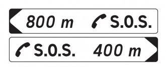 Panneaux de jalonnement vers un poste d'appel d'urgence DP1 - Devis sur Techni-Contact.com - 1