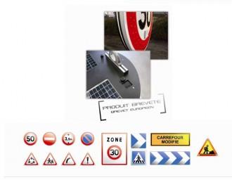 Panneau de police - Devis sur Techni-Contact.com - 1