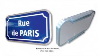 Panneau de rue en aluminium naturel - Devis sur Techni-Contact.com - 2