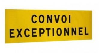 Panneau de signalisation convoi exceptionnel - Devis sur Techni-Contact.com - 3