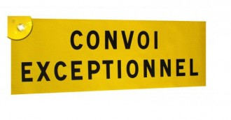 Panneau de signalisation convoi exceptionnel - Devis sur Techni-Contact.com - 4
