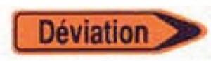 Panneau de signalisation déviation - Devis sur Techni-Contact.com - 1
