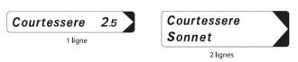 Panneau de signalisation directionnelle D29 - Devis sur Techni-Contact.com - 1