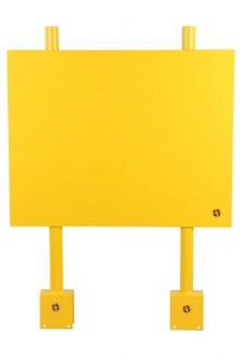 Panneau de signalisation en acier - Devis sur Techni-Contact.com - 1