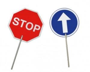 Panneau de signalisation routière - Devis sur Techni-Contact.com - 1