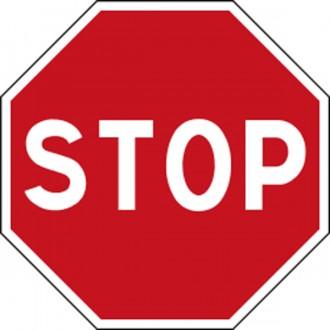 Panneau signalisation STOP AB4 - Devis sur Techni-Contact.com - 1