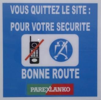 Panneau de signalisation sur site - Devis sur Techni-Contact.com - 2
