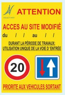 Panneau de signalisation sur site - Devis sur Techni-Contact.com - 3