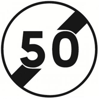 Panneau fin limitation de vitesse B33 - Devis sur Techni-Contact.com - 1