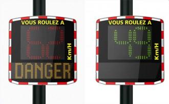 Panneau indicateur de vitesse - Devis sur Techni-Contact.com - 1