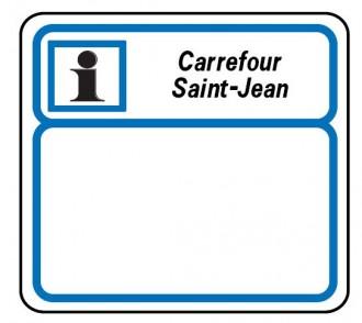 Panneau indication de services CE3b - Devis sur Techni-Contact.com - 1