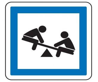 Panneau indication jeux d'enfants CE23 - Devis sur Techni-Contact.com - 1