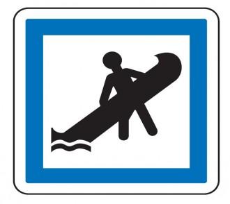 Panneau indication point de mise à l'eau CE19 - Devis sur Techni-Contact.com - 1