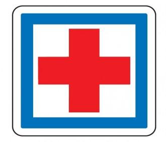 Panneau indication poste de secours CE1 - Devis sur Techni-Contact.com - 1