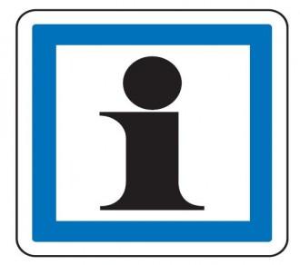 Panneau indication service touristique CE3a - Devis sur Techni-Contact.com - 1