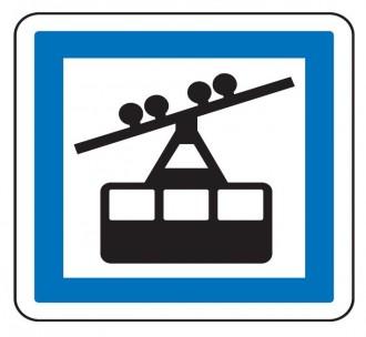 Panneau indication téléphérique CE20a - Devis sur Techni-Contact.com - 1