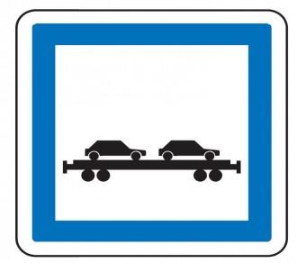 Panneau indication trains autos CE8 - Devis sur Techni-Contact.com - 1