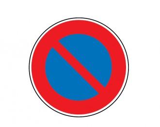 Panneau interdiction stationner B6a1 - Devis sur Techni-Contact.com - 1