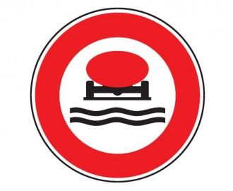 Panneau interdiction véhicule transportant marchandise polluant B18b - Devis sur Techni-Contact.com - 1