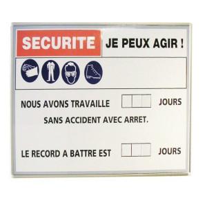 Panneau magnétique sérigraphié - Devis sur Techni-Contact.com - 1