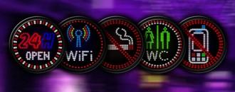 Panneau néon led - Devis sur Techni-Contact.com - 1