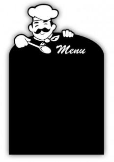 Panneau noir menu du chef - Devis sur Techni-Contact.com - 1