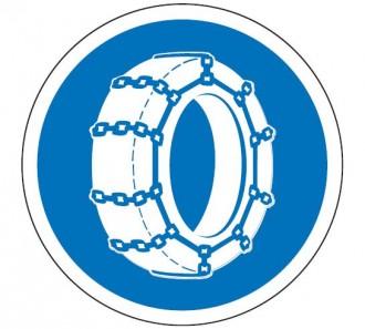 Panneau obligation chaîne à neige B26 - Devis sur Techni-Contact.com - 1
