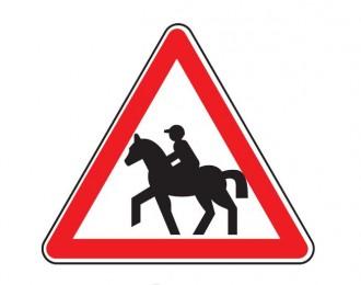 Panneau passage cavaliers A15c - Devis sur Techni-Contact.com - 1