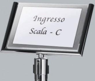 Panneau pour poteau de guidage 34 x 49 cm - Devis sur Techni-Contact.com - 1