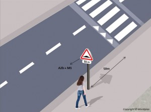 Panneau zone signalée en agglomération - Devis sur Techni-Contact.com - 1