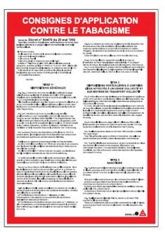 Panneau règlementaire anti-tabagisme - Devis sur Techni-Contact.com - 1