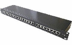 Panneau RJ45 blindé 16 ports - Devis sur Techni-Contact.com - 1