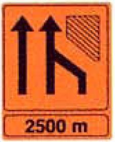 Panneau signalétique orange en aluminium - Devis sur Techni-Contact.com - 1